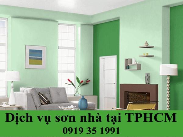 Dịch vụ sơn nhà tại TP HCM giá rẻ