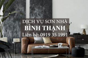 Dịch vụ sơn nhà chuyên nghiệp Bình Thạnh