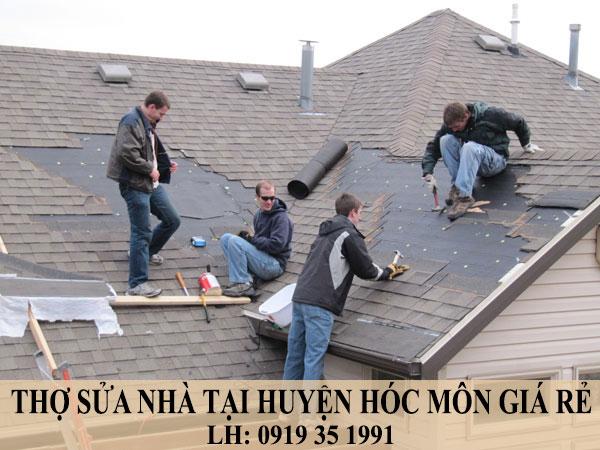 Thợ sửa nhà tại huyện Hóc Môn giá rẻ