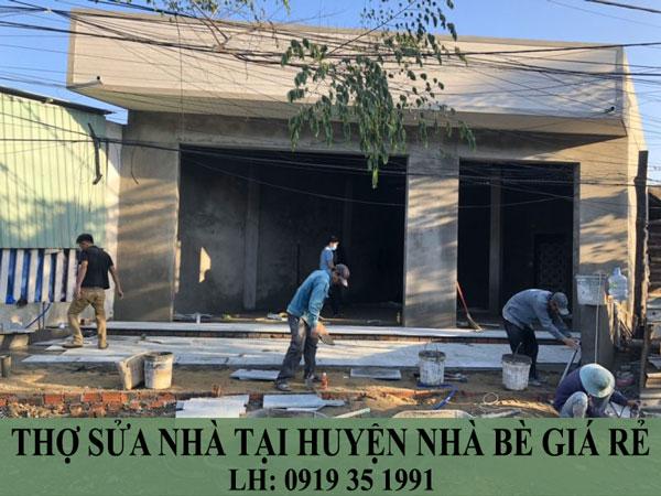 Thợ sửa nhà tại huyện nhà bè giá rẻ.