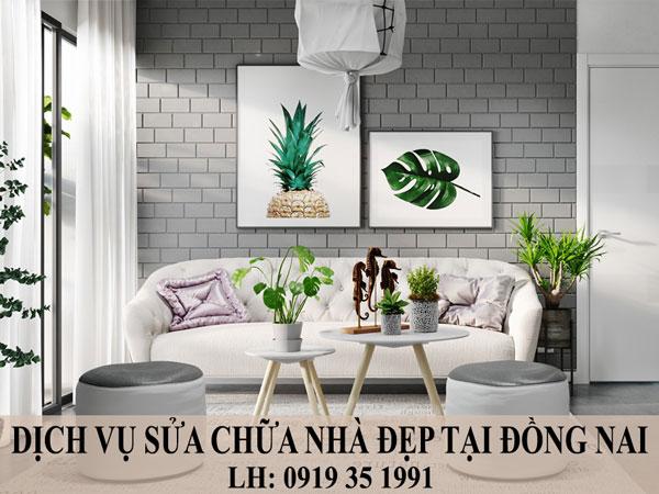 Dịch vụ sửa chữa nhà đẹp tại Đồng Nai.