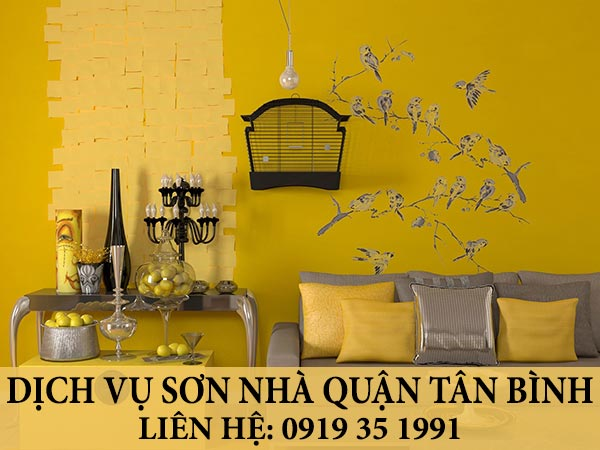 Dịch vụ sơn nhà quận Tân Bình.