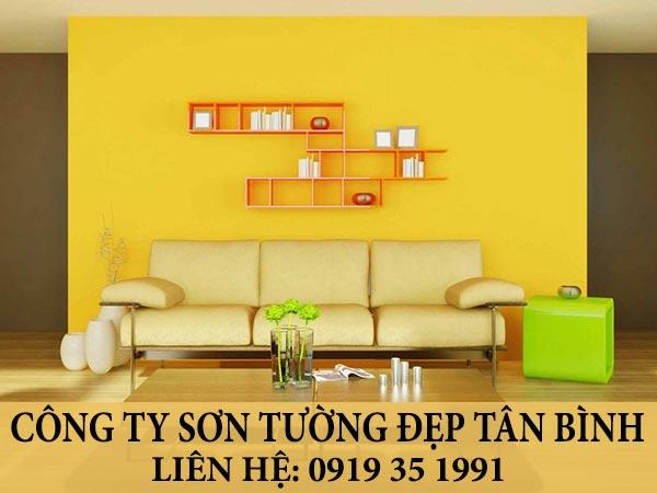 Công ty sơn tường nhà đẹp quận Tân Bình.