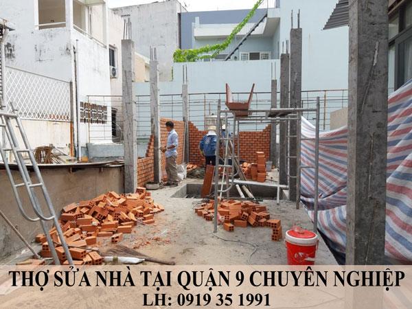 Thợ sửa nhà tại quận 9 chuyên nghiệp